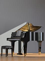 Schwarzes Piano