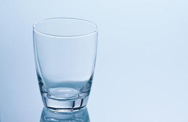 Leeres Wasserglas