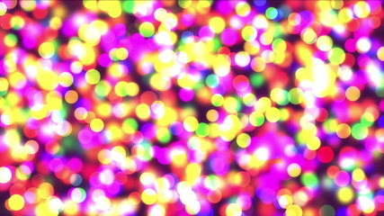 color spots abstract 4k