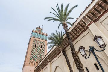 Moulay Al Yazid mosque at Marrakech, Morocco