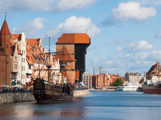 Old town of Gdansk