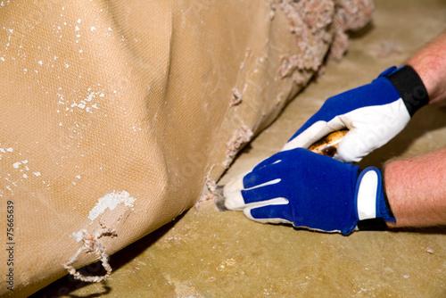 Teppichboden entfernen - 75665639