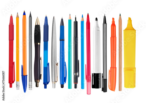 Pens and pencils - 75666087