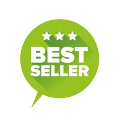 Best seller sign vector