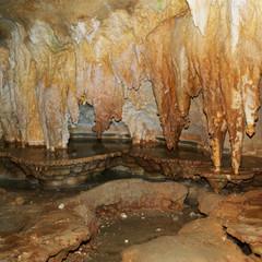 Stalactites and Stalagmites, Toirano Caves, Liguria, Italy