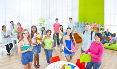 Group Student University Togetherness Team Concept