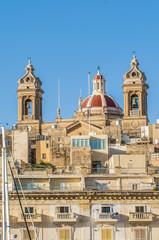 Basilica of Senglea in Malta.
