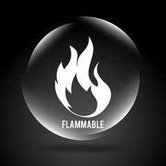 flammable signal