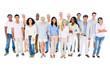Large Group People Communication Diversity Community Concept