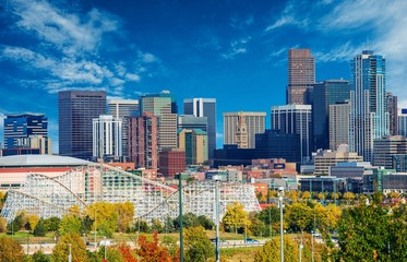 Sunny Day in Denver Colorado
