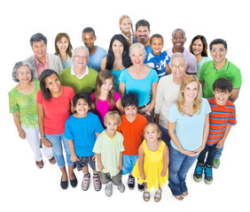Community Diverse Diversity Ethnic Togetherness Concept