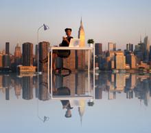 壁紙(ウォールミューラル) - Outdoor Working New York City Scape Concept