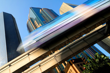 Skytrain in Kuala Lumpur