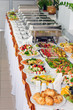Leinwandbild Motiv catering wedding