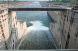 The Pa sak chonlasit Dam, Chainat, Thailand