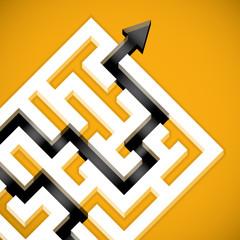 Problem solving maze solution