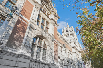 Victoria and Albert Museum at London, England