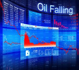 Oil Falling Crisis Recession