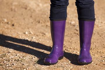 Purple Rain Boots