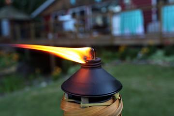 Tiki Torch Flame