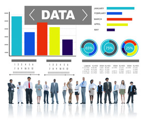 Data Analytics Chart Performance Pattern Statistics Information