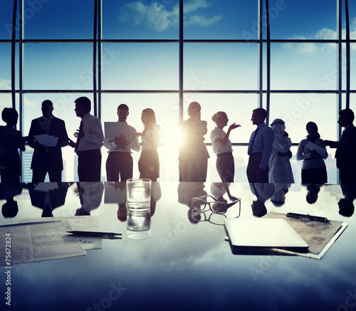 Business People Corporate White Collar Worker Office Concept - 75672824
