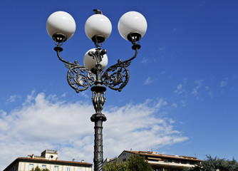 Lamppost in Florence