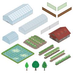 農業 / 立体図