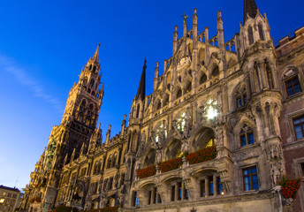 New town hall in Munich, Germany