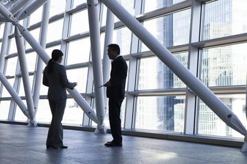 Men and women of businessman