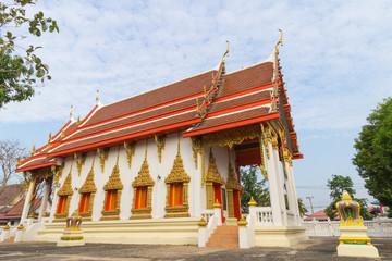 Temple at wat ban chang, Lum tasao, Ayutthaya