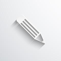 Vector pencil web icon