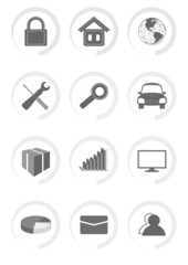 Vector Outline Icons For Web and Mobile