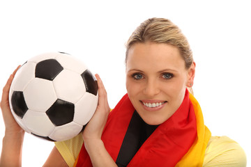 Deutscher Fußball Fan