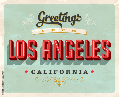 Retro Greetings from Los Angeles