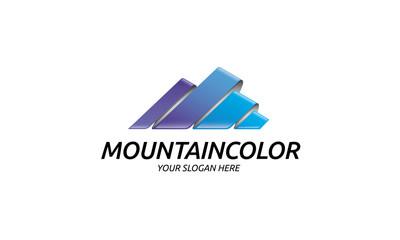 Mountain Color Logo
