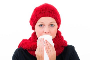 im winter eine erkältung