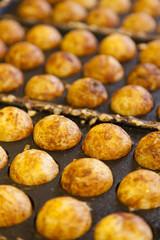 Takoyaki - Octopus ball, a popular Japanese street food