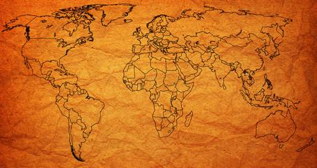laos territory on world map