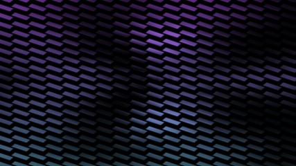 Dark puzzled blue and purple animated background