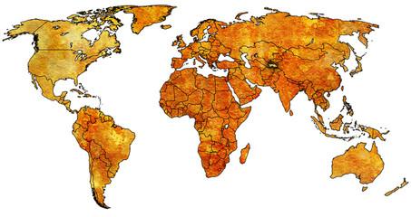 tajikistan territory on world map