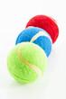 canvas print picture - Tennisbälle für Tiere