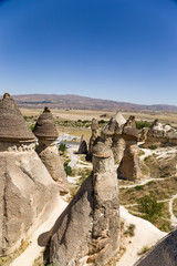 Cappadocia. Picturesque rocks in the Pashabag  Valley