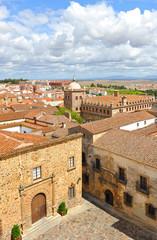 Vista panorámica de Cáceres, Extremadura, España