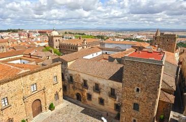 Panoramic view, Caceres, Extremadura, Spain