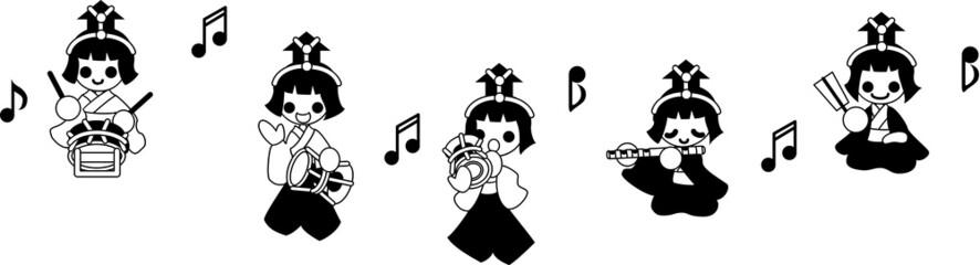 ひな祭り 〜五人囃子〜