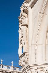 Dettagli di Piazza San Marco, Venezia, Veneto, Italia