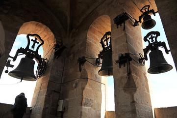 Campanas de la catedral de Cáceres, Extremadura, España