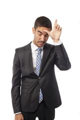 Loser businessman