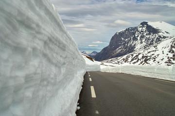 Norwegische Landstraße